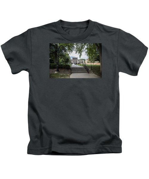 Penn State Library  Kids T-Shirt by John McGraw