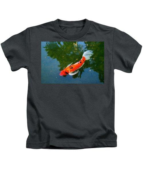Pensive Koi Kids T-Shirt