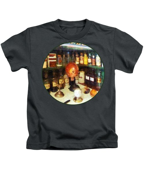 Pharmacy - Behind The Counter At The Drugstore Kids T-Shirt
