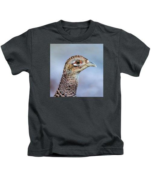 Pheasant Hen Kids T-Shirt