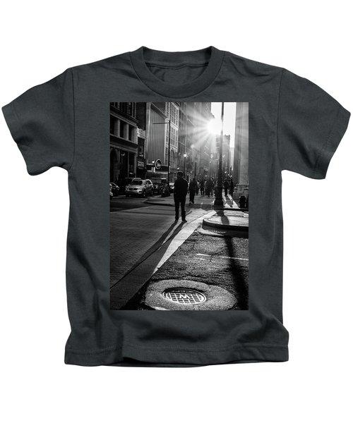 Philadelphia Street Photography - 0943 Kids T-Shirt