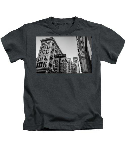 Philadelphia Urban Landscape - 0980 Kids T-Shirt