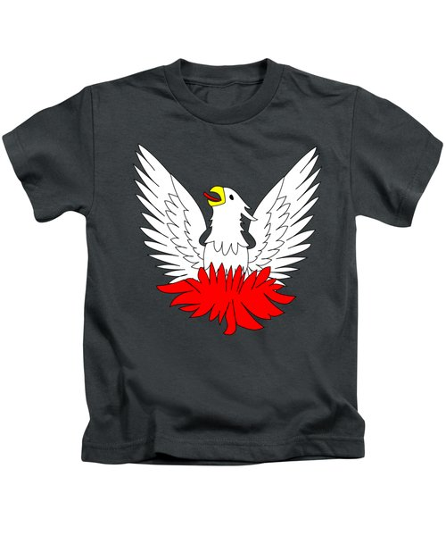 Phoenix Kids T-Shirt by Frederick Holiday