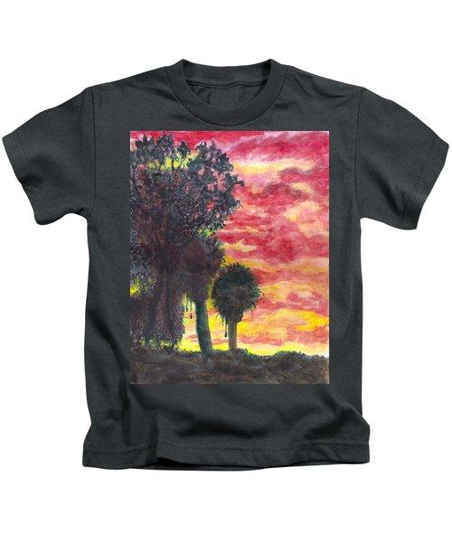 Phoenix Sunset Kids T-Shirt