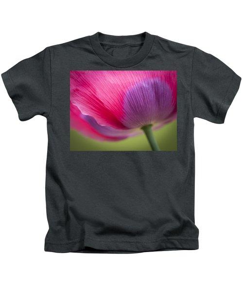 Poppy Close Up Kids T-Shirt