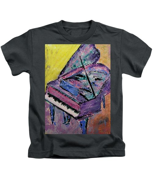 Piano Pink Kids T-Shirt