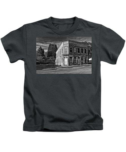 Pickens Wv Monochrome Kids T-Shirt
