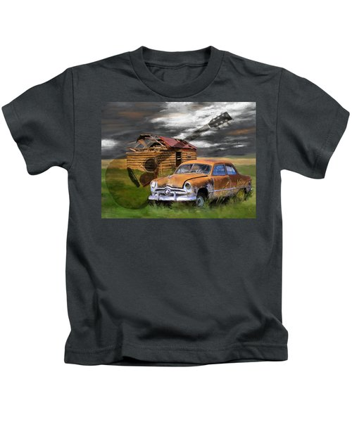 Pickin Out Yesterday Kids T-Shirt