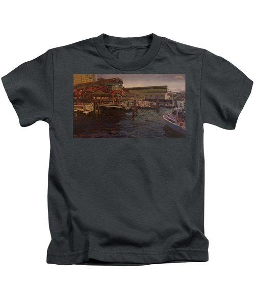 Pier 55 - Red Robin Kids T-Shirt