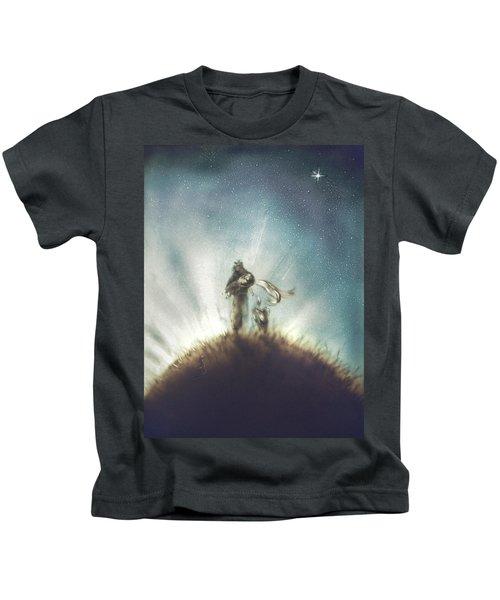 Pilot, Little Prince And Fox Kids T-Shirt