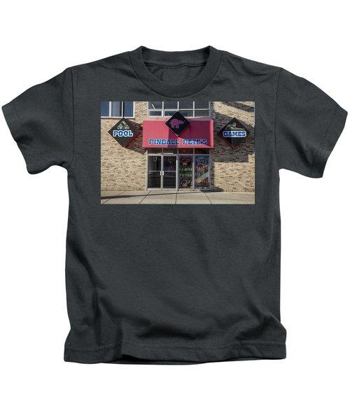 Pinball Pete's East Lansing  Kids T-Shirt