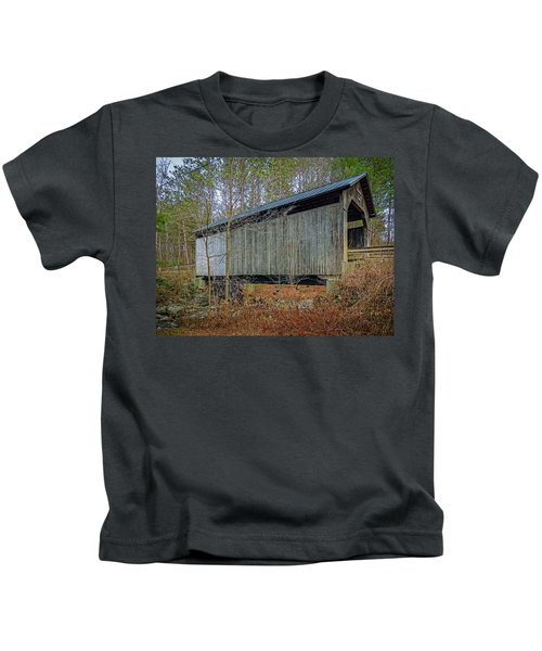 Pine Brook Bridge Kids T-Shirt
