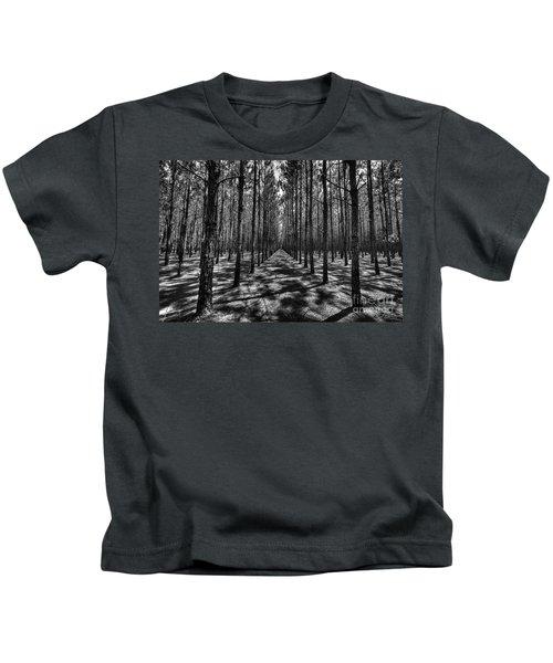 Pine Plantation Wide Kids T-Shirt