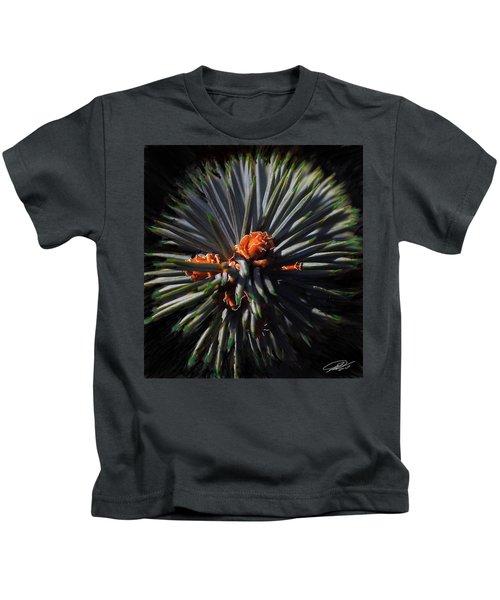 Pine Rose Kids T-Shirt