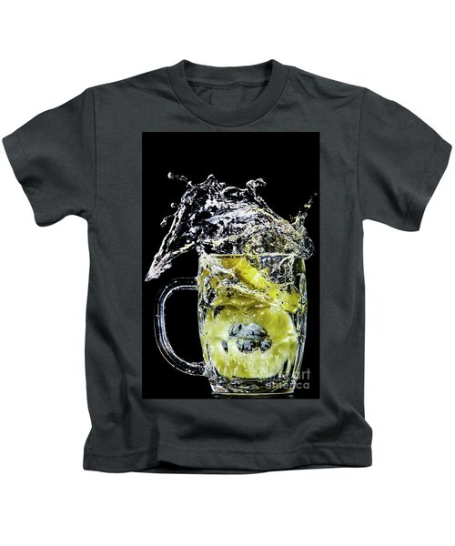 Pineapple Splash Kids T-Shirt