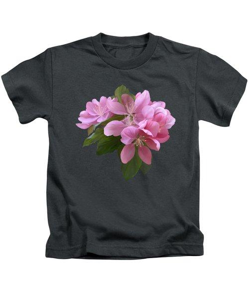 Pink Blossoms Kids T-Shirt