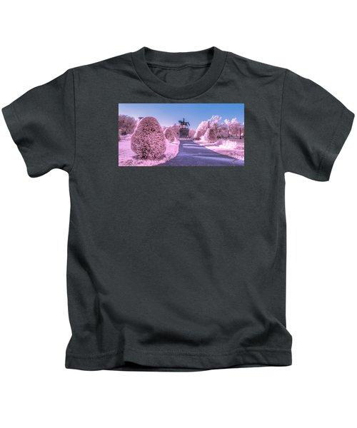 Pink Garden Kids T-Shirt