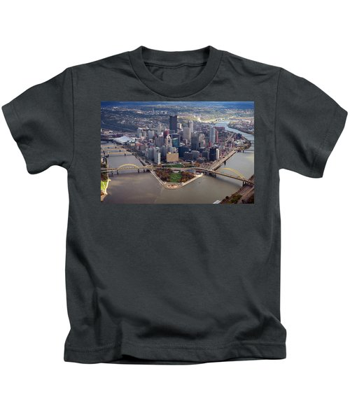 Pittsburgh 8 In Color  Kids T-Shirt