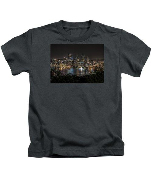 Pittsburgh Skyline Kids T-Shirt