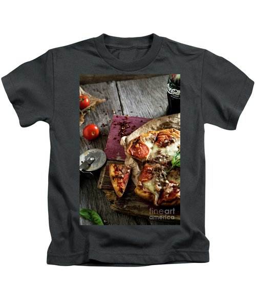 Pizza Night Kids T-Shirt