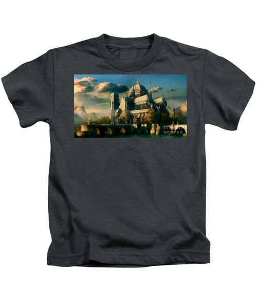 Places Angels Dwell Painted In Bleak Kids T-Shirt