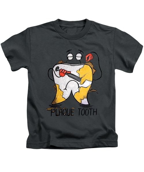 Plaque Tooth T-shirt Kids T-Shirt