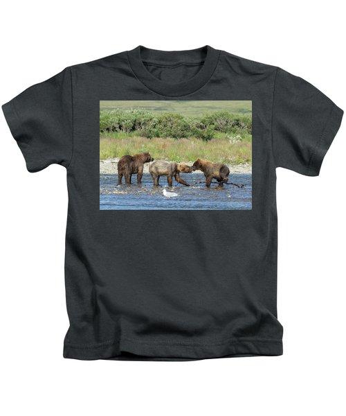 Playful Cubs Kids T-Shirt