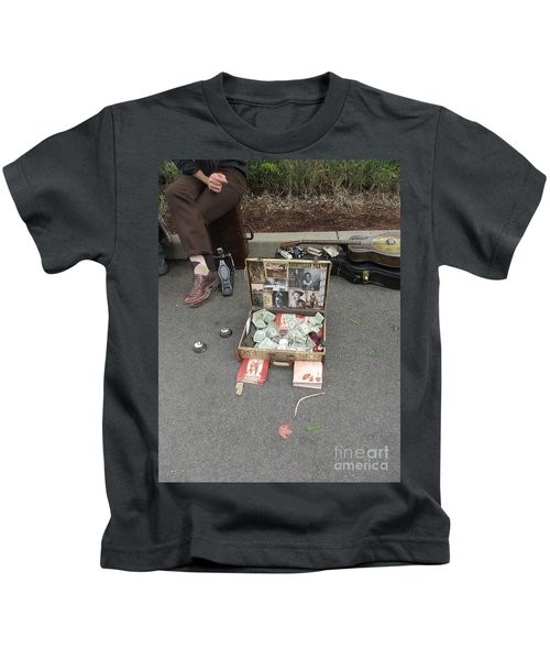Playing For Dinner Kids T-Shirt