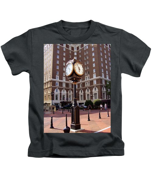 Poinsett Hotel Greeenville Sc Kids T-Shirt