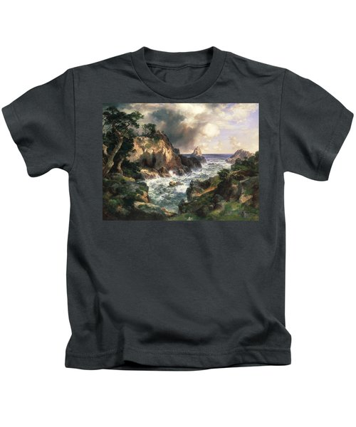 Point Lobos Monterey California Kids T-Shirt