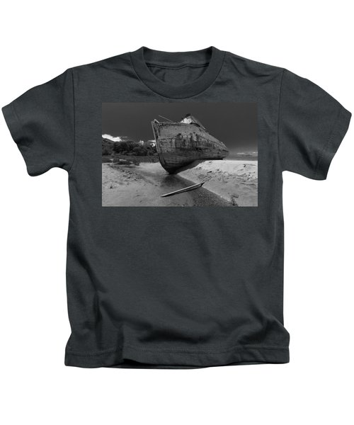 Point Reyes Boat Kids T-Shirt