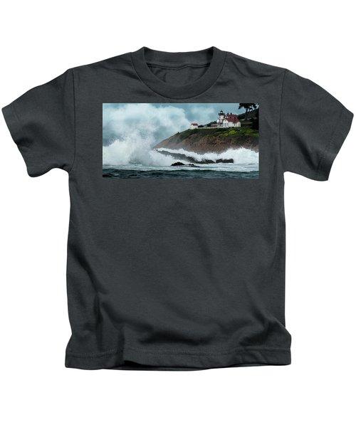 Point San Luis Lighthouse Kids T-Shirt