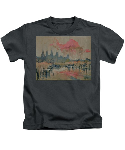 Pokkenweer Museum Square In Amsterdam Kids T-Shirt