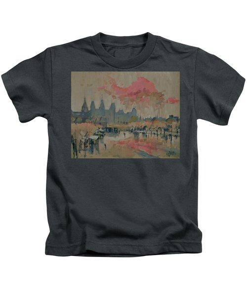 Pokkenweer. Museumplein Kids T-Shirt