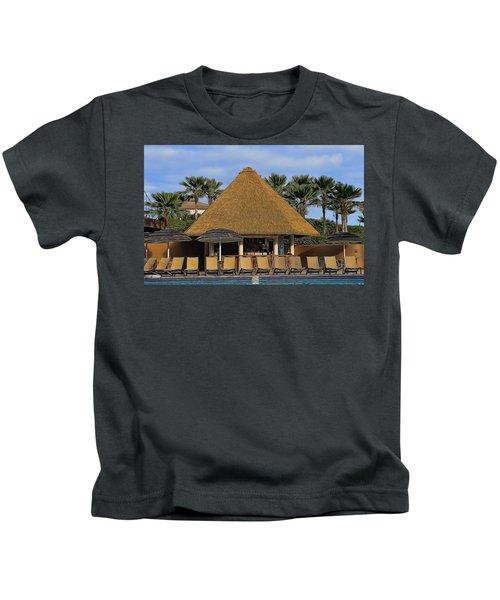 Poolside Drinks Kids T-Shirt