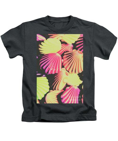 Pop Art From Fluorescent Beach Kids T-Shirt