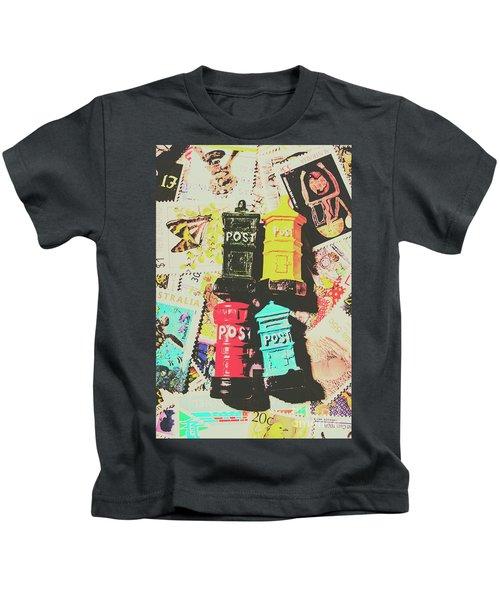 Pop Art In Post Kids T-Shirt
