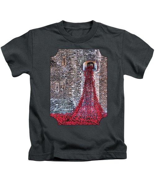 Poppy Cascade Kids T-Shirt