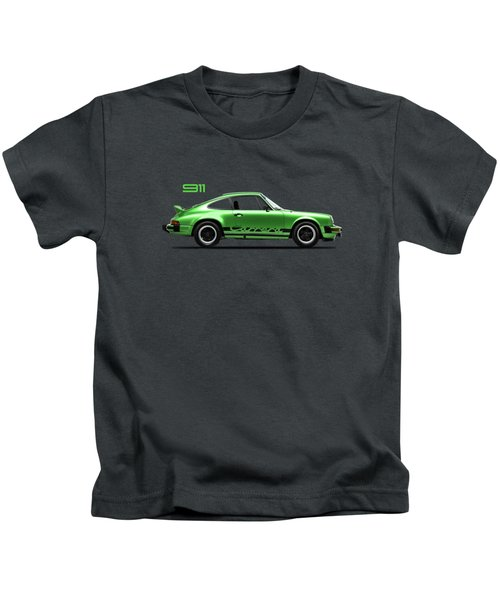 Porsche 911 Carrera Green Kids T-Shirt