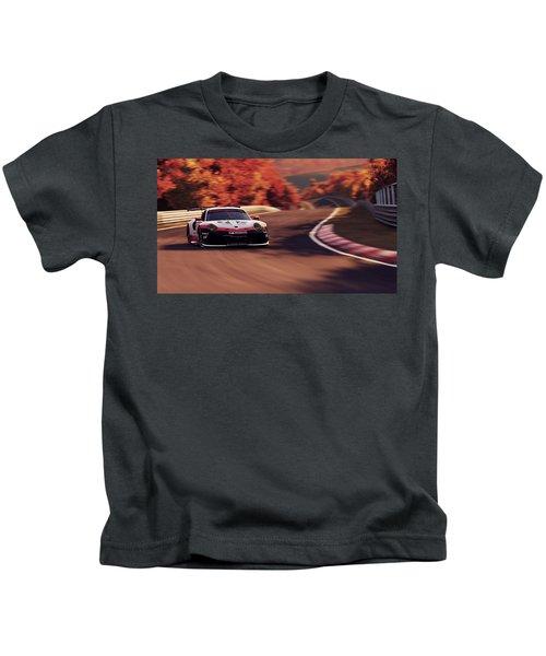 Porsche 911 Rsr, Nordschleife - 41 Kids T-Shirt