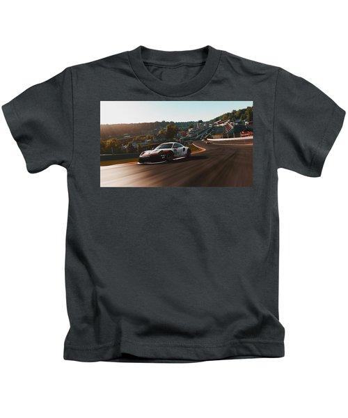 Porsche 911 Rsr, Spa-francorchamps - 33 Kids T-Shirt