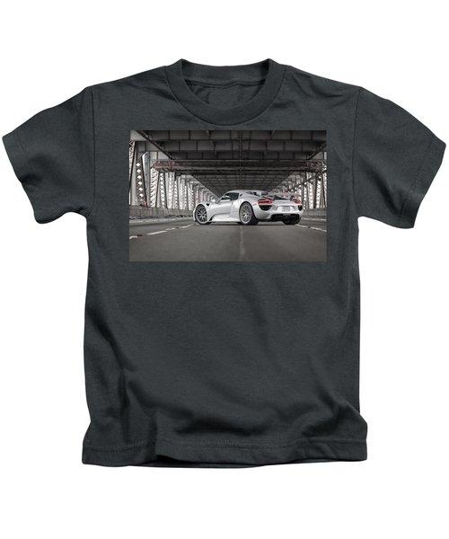 Porsche 918 Spyder Kids T-Shirt