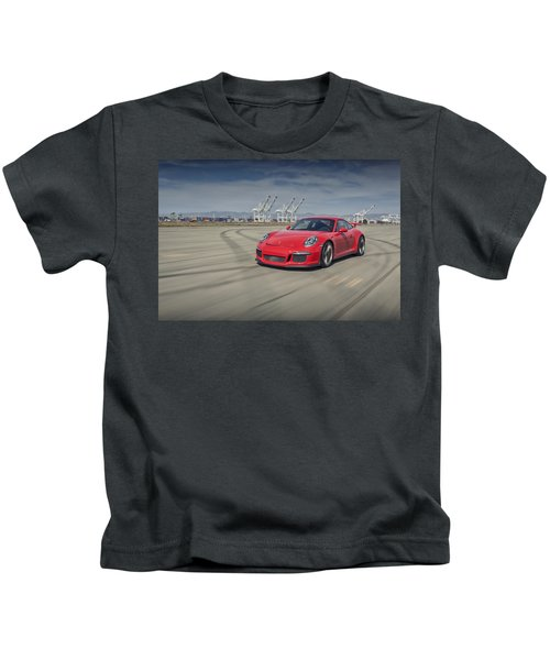 Porsche 991 Gt3 Kids T-Shirt