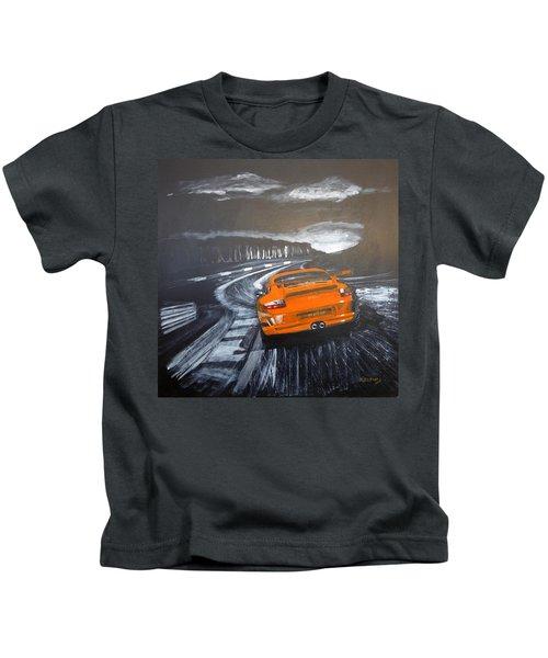 Porsche Gt3 @ Le Mans #3 Kids T-Shirt