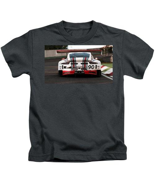 Porsche Gt3, Martini Racing, Monza - 03 Kids T-Shirt