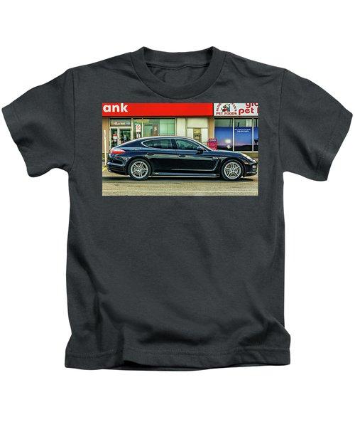 Porsche Panamera Sport Turismo Kids T-Shirt