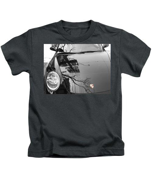 Porsche Reflections Kids T-Shirt