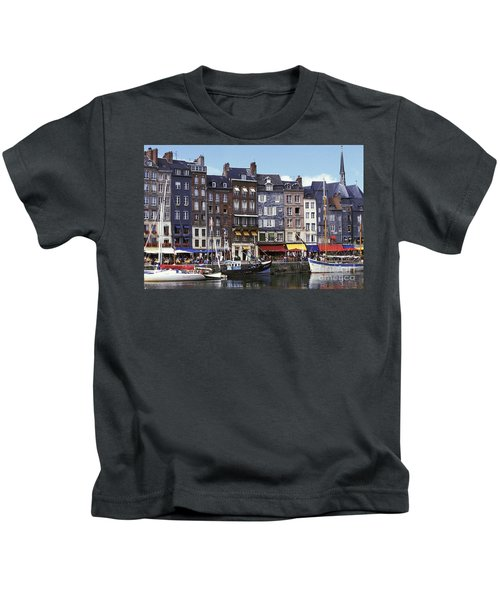 Port Of Honfleur Kids T-Shirt