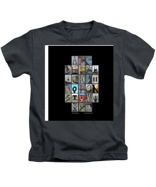Portland Alphabet Kids T-Shirt