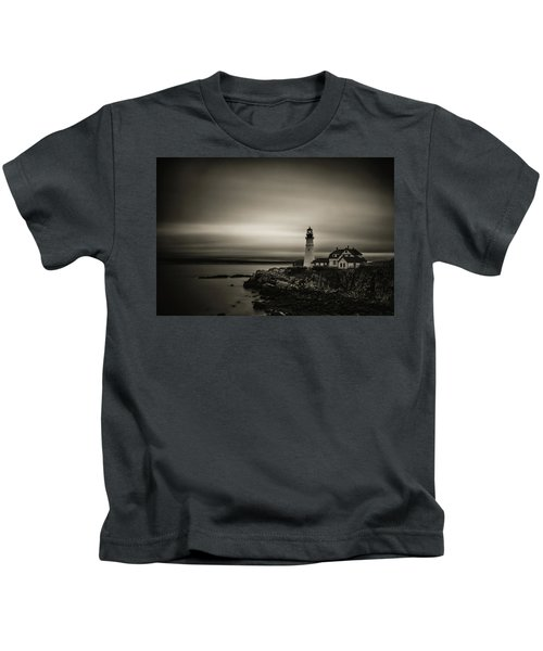 Portland Head Light 3 Kids T-Shirt